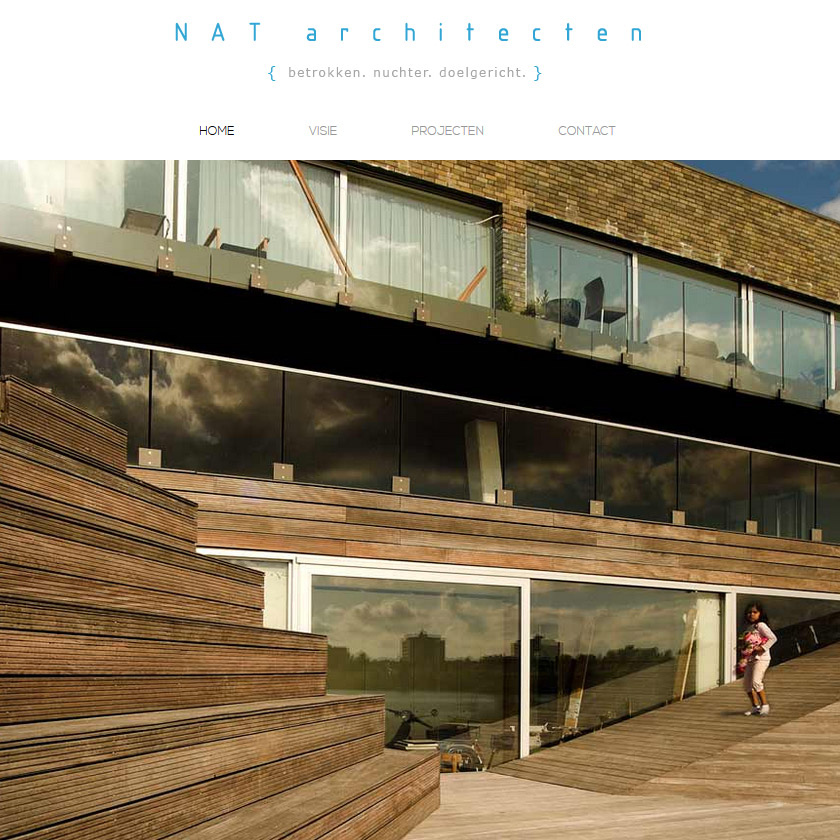 NAT-Architecten-website